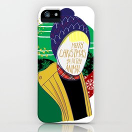 Filthy Animal iPhone Case
