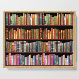 Vintage books ft Jane Austen & more Serving Tray