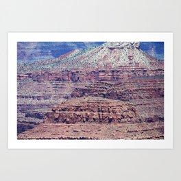 Colors of Grand Canyon Art Print