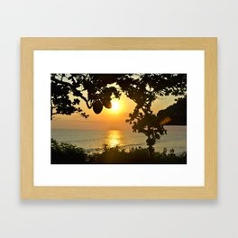Serenity in Bali Framed Art Print