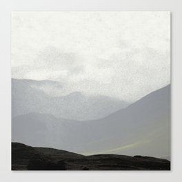 Rannoch Moor - mists and mountains Canvas Print