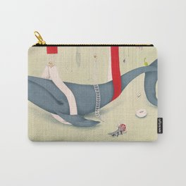 A whale has landed Carry-All Pouch