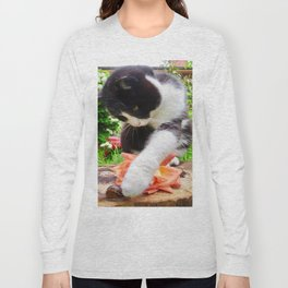 Orazio and the snail Long Sleeve T-shirt