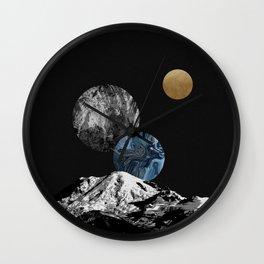 Space II Wall Clock