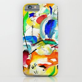 Wassily Kandinsky - Improvisation 31 iPhone Case