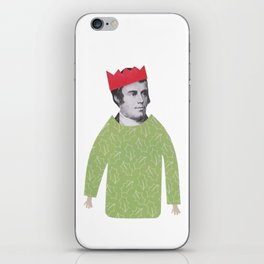 The embarrassing Christmas Jumper iPhone Skin