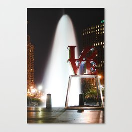 Love Park Canvas Print