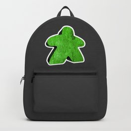 Giant Green Meeple Backpack