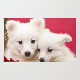 Puppies from the North Pole Rug