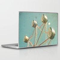 ferris wheel Laptop & iPad Skins featuring Ferris Wheel by Cassia Beck