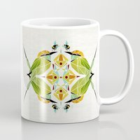 soul eater Mugs featuring green bee eater  by Manoou