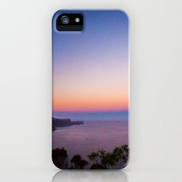 Sunset views iPhone Case