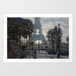 manège parisienne Art Print