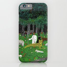 African American Masterpiece 'Holy Mountain III' by Horace Pippin iPhone Case