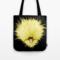 chicken Tote Bags featuring Chicken by Compassion Collective