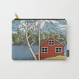 Lake House Carry-All Pouch