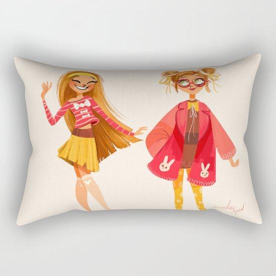 Honey Lemon Rectangular Pillow