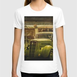 Service Station Automobile Car Care T-shirt