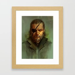 Big Boss Variant Framed Art Print