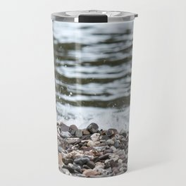 Beach Pebbles Travel Mug