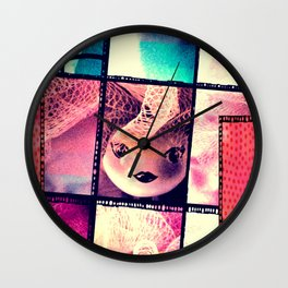 Sweet Doll Wall Clock