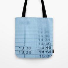 Schedule Tote Bag