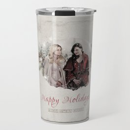 OUAT HAPPY HOLIDAYS // Swan Queen Travel Mug