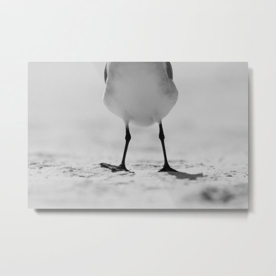 Happy Feet Metal Print