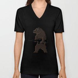Bear Arms Unisex V-Neck