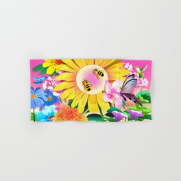 Garden Hand & Bath Towel