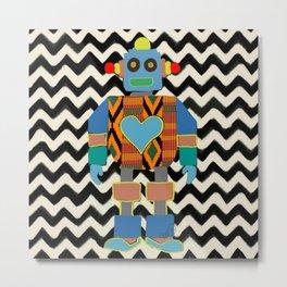 Kente Bot 2 Metal Print