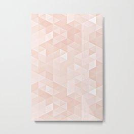 Experimental Triangle I Metal Print