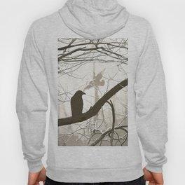 Natural crows Hoody