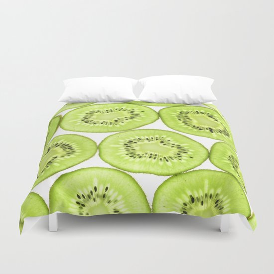 Kiwi Pattern Duvet Cover