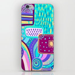 Pop Abstract iPhone Skin