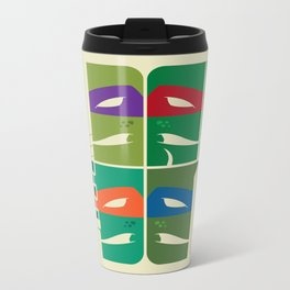 TMNT Metal Travel Mug
