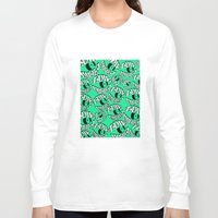 tame impala Long Sleeve T-shirts featuring TAME IMPALA EYES2 by Queen Lizard