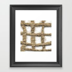 Barriers Framed Art Print