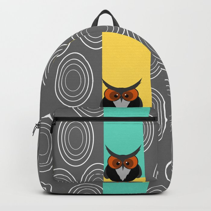Owls in trees Backpack