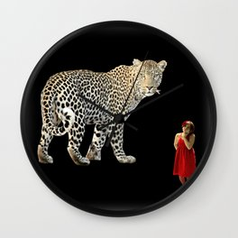 A Queen May Look At A King Wall Clock