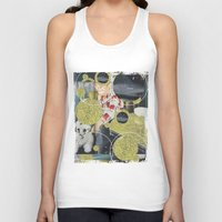 pony Tank Tops featuring PONY by WeLoveHumans