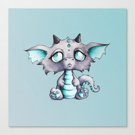 Baby Lavender Dragon Canvas Print