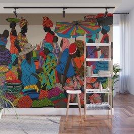 African market 3 Wall Mural