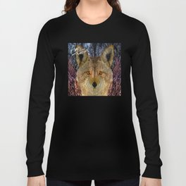 Long Night Coyote Long Sleeve T-shirt