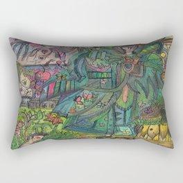 boy secret Rectangular Pillow