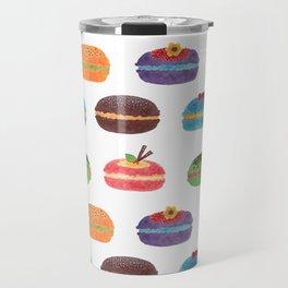 Sweet Macarons Travel Mug