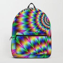 Rainbow illusion Backpack