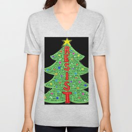 CDC Resist Tree Unisex V-Neck