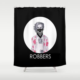 Robbers Shower Curtain