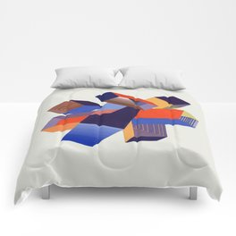 Geometric Painting by A. Mack Comforters